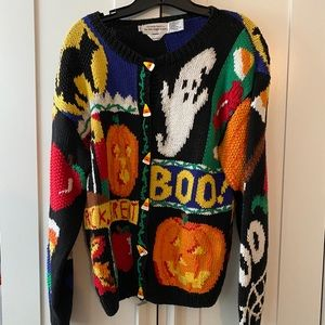"""Sweaters - Vintage """"Ugly"""" Halloween Sweater"""